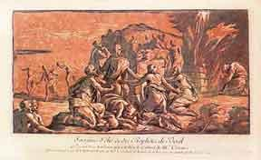 Sacrifice of Elijah and the Prophets of Baal.: Le Sueur, Nicolas, after Maturino.
