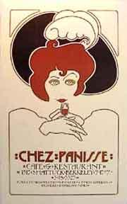 Chez Panisse 1st Birthday. Red Haired Lady [poster].