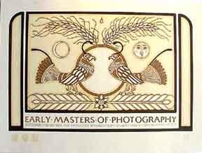 Early Masters of Photography [poster].: Goines, David Lance.