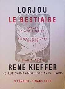 Le Bestiaire [poster].