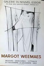 Galerie du Nouvel Essor [poster].: Weemaes, Margot.