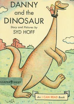 Dust-Jacket for Danny and the Dinosaur.: Hoff, Syd.