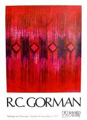 R. C. Gorman [exhibition poster].