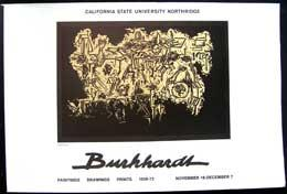 Burkhardt. Paintings, Drawings, Prints 1928-1973.