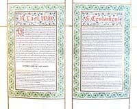 A Last Will and Testament.: Fish, Williston; O'Day, E. F.; Nash, John Henry.