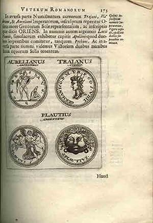 Veterum Romanorum Religio, Castrametatio, Disciplina Militaris ut & Balneae Ex antiquis ...