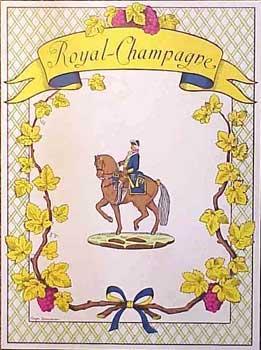 Menu for Royal-Champagne.: Royal-Champagne.