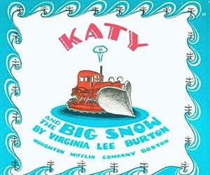 Dust-Jacket for Katy And The Big Snow.: Burton, Virginia Lee.