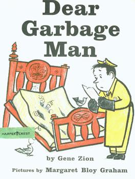Dust-Jackets for 1. Dear Garbage Man; 2.: Zion, Gene; Graham,
