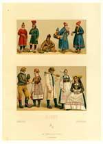Leaves from Le Costume Historique. Sweden (Suede).: Llanta, L.