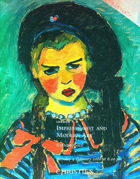 Impressionist and Modern Art. Evening Sale.: Christie's. London, 4