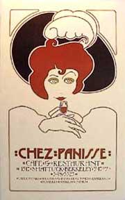Chez Panisse 1st Birthday. Red Haired Lady.