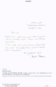 Autographes Litteraires, Manuscrits Musicaux, Editions Originales De Balzac, Dessins de Victor Hugo...