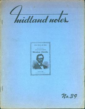 Midland Notes. No. 39. Lincolniana.