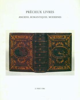 Precieux Livres: Anciens, Romantiques, Modernes. 21 May,: Mes Laurin, Guilloux,