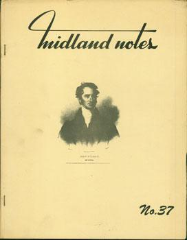 Midland Notes. No. 37. Ohioana.