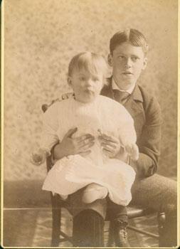 Margaret Mary James and her older brother Henry James III, children of Philosopher William James.]:...