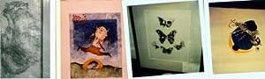 Photographs of works by Wassily Kandinsky, Ernst Ludwig Kirchner, Walter Kuhlman, Oscar Kokoschka, ...