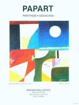 Papart Paintings Gouaches. June 1987.: Nahan Galleries (New