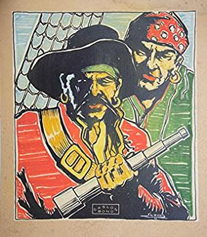 Poster Design of Pirates for Caslon Bond.