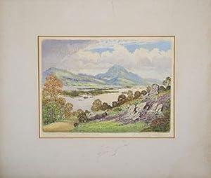 Loch Maree Ross-Shire (the Scottish Lochs).: Boak, Robert Creswell (1875-1949).