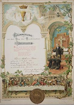 Außergewöhnlich Erinnerung An Den Tag Der Konfirmation. Denkspruch.: Eden Publishing