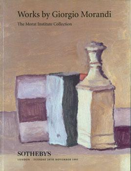 Works By Giorgio Morandi: The Morat Institute Collection. November 28, 1995.: Sotheby's (London).