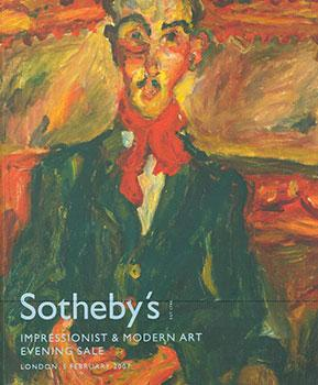 Impressionist and Modern Art Evening Sale.February 2007.: Sotheby's (London).