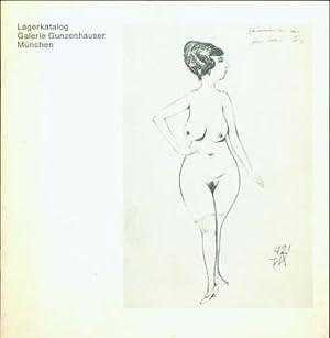 """Lagerkatalog. [Otto Dix, """"Erinnerung An Eine Schone Frau II"""" on cover.]: Galerie ..."""