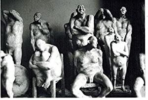 Photograph of the sculptures by Armando Romero.