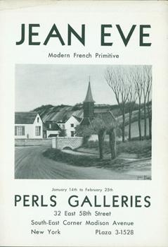 Jean Eve: Modern French Primitive. January 14th to February 25th, 1939.: Eve, Jean.