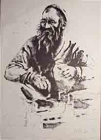 Orthodox Jew.: Gat, Moshe.