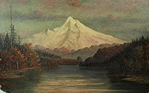 Mount Shasta from a lake.: R.M.M.