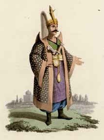 Military Costume of Turkey. llustrated By a: McLean, Thomas.