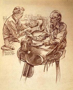 Saddle Makers.: Wolfe, Bruce Leslie.