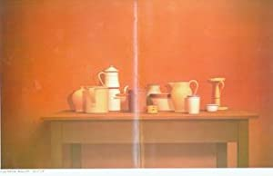 Large Still Life - Rome, 1977. William Bailey, April 7 - May 12, 1979, Fendrick Gallery, Washingt...