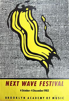 Next Wave Festival. Brooklyn Academy of Music.1983. Poster.