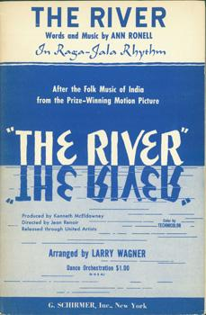 The River. In Raga-Jala Rhythm after the folk music of India, from the prize-winning motion picture...