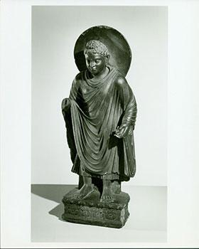 Photograph of Ancient Statue of Boddhisatva.: Freer Gallery of Art (Washington DC); Chinese Artist.