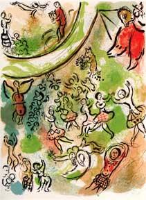 The Ceiling of the Paris Opera.: Lassaigne, Jacques and Marc Chagall (illustrator).