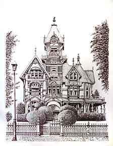 Carson Mansion. Eureka, CA.: Worsøe, J.
