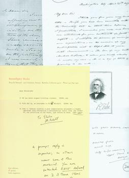 Photocopies of letters written to Elisha Mitchell: Serendipity Books (Berkeley,