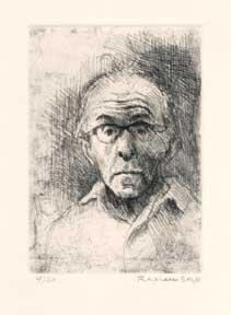 Self Portrait.: Soyer, Raphael.