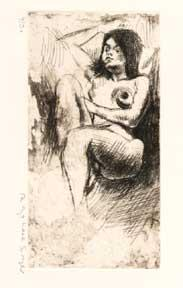 Young Nude.: Soyer, Raphael.