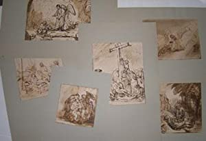 Rembrandt's Drawings. Reichsdruckerei Facsimile Collotypes.: Rembrandt.
