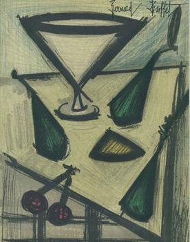 Nature morte aux fruits. (Still Life with Fruit): Buffet, Bernard