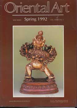 Oriental Art. 33 issues. New series vols. XXIX-XXXVIII.: Sweetman, John and Ann Butler (editors)
