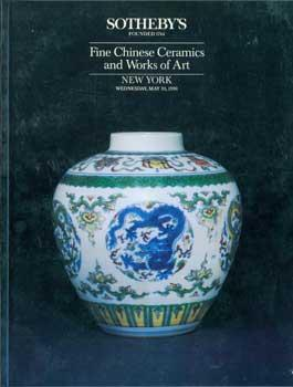 "Fine Chinese Ceramics and Works of Art. May 30, 1990. Sale 6028 ""WANLI"". Lots # 1 - 207.: ..."