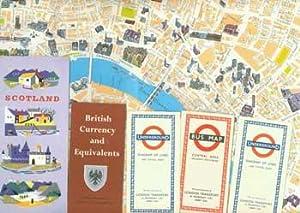 British Isles Travel Ephemera: Scotland (travel info booklet); British Currency and Equivalents; 3 ...