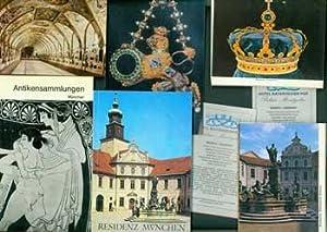Munich Travel Ephemera: Die Antikensammlungen am Konigsplatz in Munchen; Residenz Munchen (2): A ...